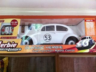 BNIB Remote Control Herbie The Love Bug Collectible RARE 1 6 Scale
