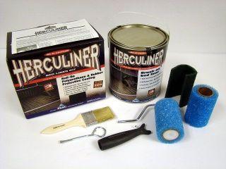 Herculiner DIY Truck Bed Liner Kit HCL1B8 BLACK