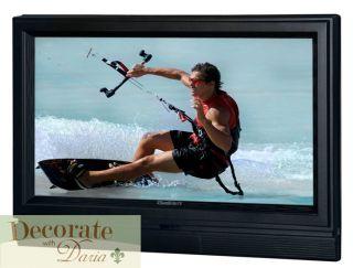 32 TV Outdoor Sunbrite Flat Screen LCD HD Outside All Weather Black