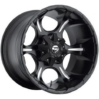 Fuel Dune 20x9 Black Wheel / Rim 8x6.5 with a 20mm Offset and a 125.20