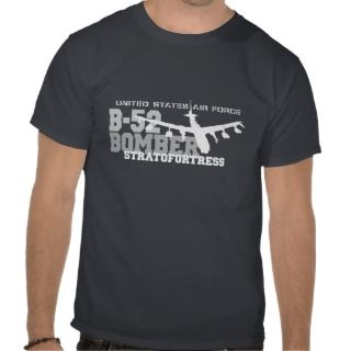 52 Aviation Air Force  Stratofortress Tshirt