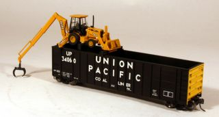Custom Herzog John Deere Cartopper Tie Handler Union Pacific UP