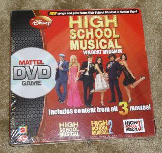 Disney High School Musical Wildcat Megamix DVD Game