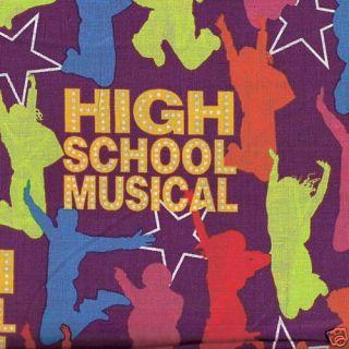 Yard Cut Quilt Fabric Springs Disney High School Musical $3 50 A