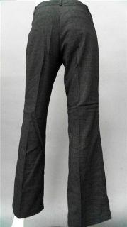 Van Heusen Studio Ladies Womens 8 Stretch Dress Pants Short Charcoal