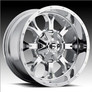 Fuel Krank 20x9 Chrome Wheel / Rim 8x6.5 with a 20mm Offset and a 125