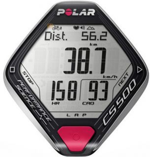 Polar Cycling Speed Distance Heart Rate Monitor Watch CS500CAD