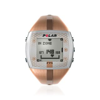POLAR FT4 BROWN HEART RATE MONITOR