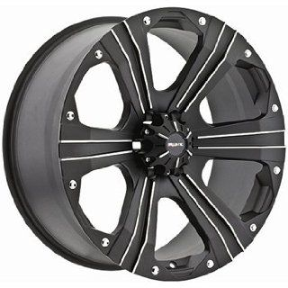 Ballistic Outlaw 20x9 Black Wheel / Rim 6x5.5 with a 15mm Offset and a
