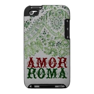 Amor Roma With Green Lace iPod Touch 4g Cases