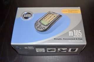 Palm M105 Handheld Brand New in Factory SEALED Box