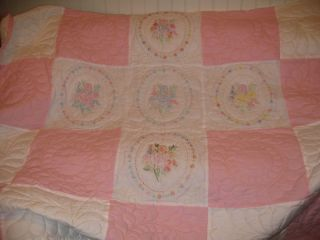 Handmade Full Size Quilt in Collectibles