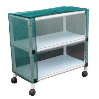 Echo Mid Size Linen Cart with Cover Number of Shelves 3