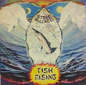 SEVE HILLAGE impor vinyl LP Fish Rising nice condiion V2031