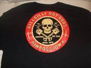 Hillbilly Hot Rods T Shirts Rat Rod Hot Rod Customs Harley Parts Iowa