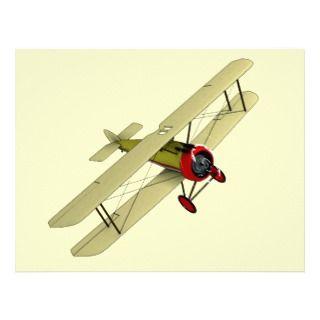 Sopwith Camel Biplane Letterhead