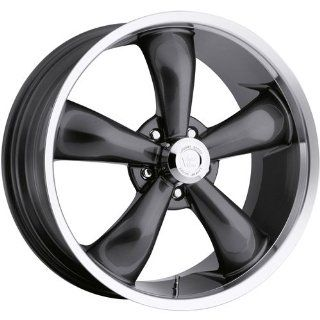Vision Legend 5 22 Gunmetal Wheel / Rim 5x115 with a 20mm Offset and a