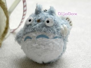 Hayao Miyazaki My Neighbor Totoro Doll Stuffed Toy Plush Charm Pendant