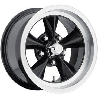 US Mags Standard 15x7 Black Wheel / Rim 5x4.75 with a  5mm Offset and