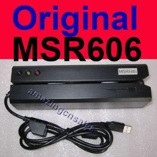 MSR606 HiCo Magnetic Card Reader Writer Encoder MSR206