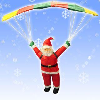 50cm Christmas HANG GLIDING Santa Claus Indoor Outdoor Decoration