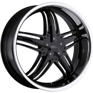 Milanni Force 18 Black Wheel / Rim 5x110 & 5x115 with a 38mm Offset