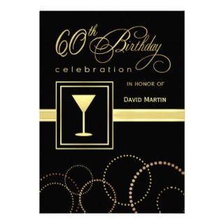 60.o Invitaciones de la fiesta de cumpleaños   con Anuncios de