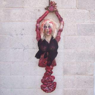 Hanging Body Bloody Guts Halloween Haunted House Prop