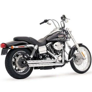 VANCE & HINES Q SERIES DOUBLE BARREL 86 11 HARLEY FXST   SOFTAIL