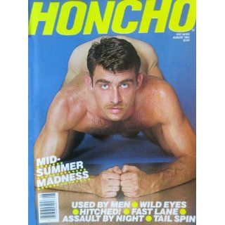 Honcho Magazine August 1985 (Volume 8, Number 5): George Mavety