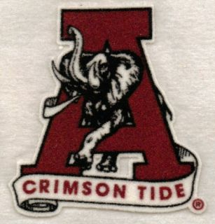 100 Alabama Iron on Patches Bama Crimson Tide $695VALUE