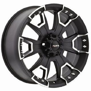 Ballistic Havoc 15x8 Black Wheel / Rim 6x5.5 with a  27mm Offset and a