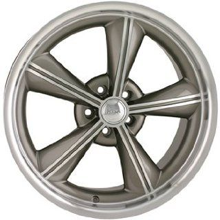 Alloy Ion Style 625 18x9 Silver Wheel / Rim 5x4.5 with a 35mm Offset