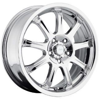Vision 9X 17 Chrome Wheel / Rim 5x4.5 & 5x120 with a +42 mm Offset and