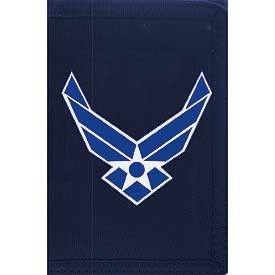 USAF US Air Force Hap Arnold Wing Wings Logo Patriotic Cloth Tri Fold