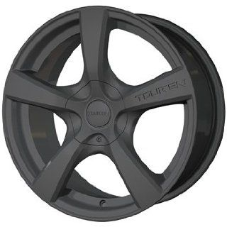 Touren TR9 22 Black Wheel / Rim 5x115 & 5x120 with a 20mm Offset and a