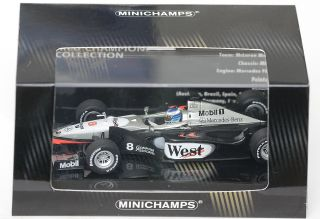 1998 Mika Hakkinen F1 1 43 Minichamps World Champion West McLaren MP4