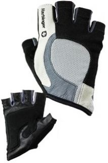 Harbinger Flexfit Medium Weight Lifting Bike Gloves Blk