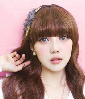 New Korean Fashion Girls Women Spangle Headband Hair Made in Korea 392