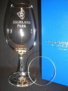 Highland Park Scotch Whisky Glencairn Copita Nosing Glass