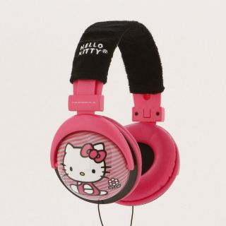 Brand New Hello Kitty 35009TRU Foldable Headphones Pink Color