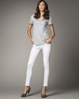 Rock & Republic Posey Twill Skinny Ankle Jeans