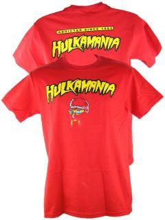 Red Hulk Hogan Addicted Since 1983 T shirt New