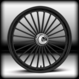21x2 15 Harley Davidson Softail Gloss Black Legend Wheel