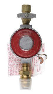 High Pressure Propane Regulator 1 4 FPT x Pol w Shut Off 2 000