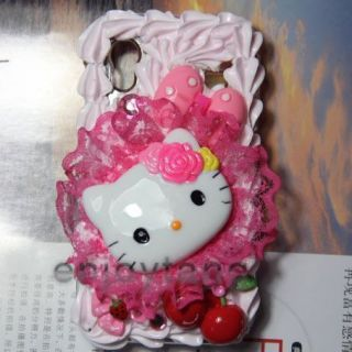 Hello Kitty Cake Cream Case Samsung Galaxy Ace S5830