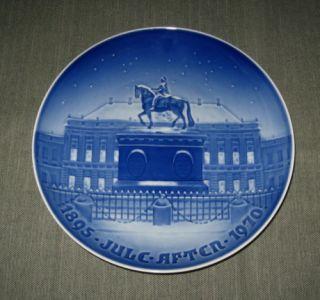 1970 Bing Grondahl 9 Christmas Plate Amalienborg Royal Palace