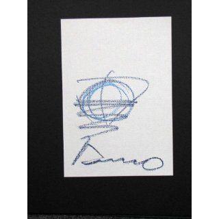 Tadao Ando (1941 ) Original Art  Hand Signed Sketch