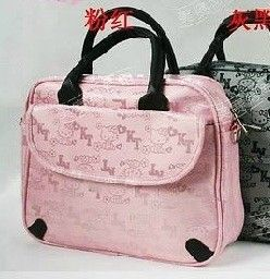 Pink Hello Kitty Notebook MacBook Laptop Case Bag 10 8