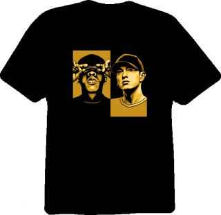 Hip Hop Jay Z and Eminem Rap T Shirt